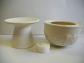 Giftco, Inc Birdhouse Porcelain Globe Candles- 2 Piece Set