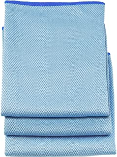 """Unger Professional Large Professional-Grade Microfiber Towels, 18"""" x 18"""" (3 Pack)"""