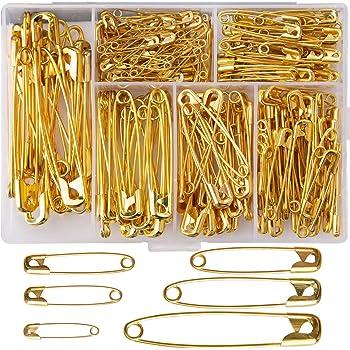 Brass 1 Dritz 1465 35-Piece Safety Pins Size 2