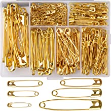 Best gold safety pins Reviews