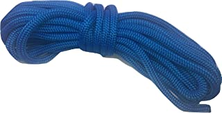 5/8 Inch by 50 Feet Blue Double Braid Nylon Rope