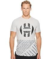 adidas - Harden Logo Scoop Tee