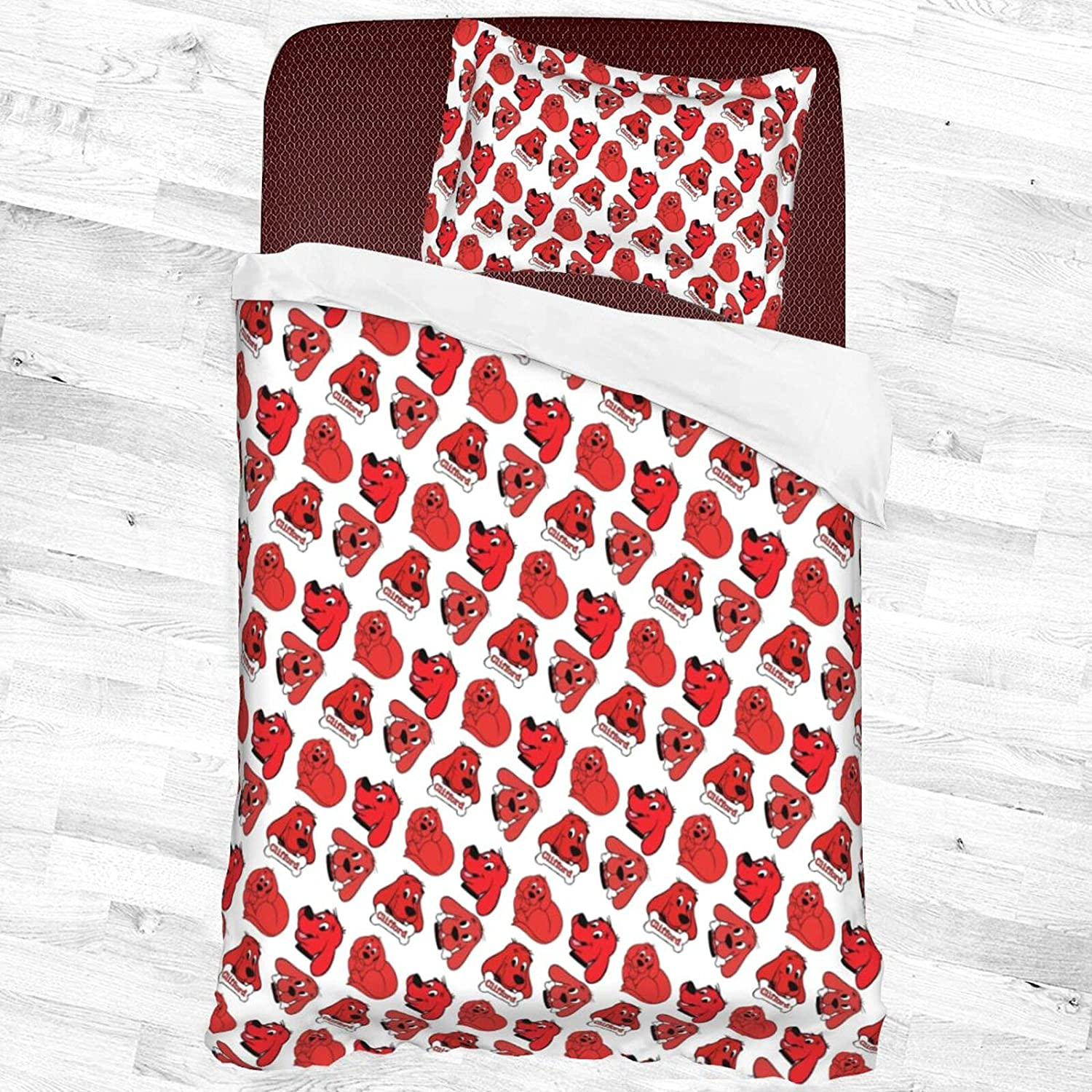 Cli.Ffo.Rd The Big Red Dog Decorative Piece with Chicago Mall Bedding 1 Set Branded goods 2