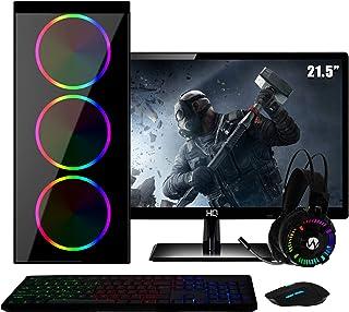 PC Gamer Completo Intel Core i5 RAM 8GB (Geforce GTX 1050 Ti 4GB) SSD 120GB HD 1TB 500W Monitor Full HD 21.5 FoxPC Power
