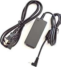 Ac Adapter Charger replacement for Asus Eee PC 1201PN 1201PN-PU17-BK 1201PN-PU17-SL 1201T, Asus Eee PC 1215 1215B 1215B-MU17-BK 1215B-MU17-RD 1215N, Asus Eee PC 1225B-BU17 R11CX-BLK002S R11CX-WHI002S X101, Asus Eee PC X101CH-BLK031W, X101CH-BLK033S,X101CH-BLK043S, Asus Eee PC X101CH-BLK046S,X101CH-BLK060S, X101CH-EU17-WT, Laptop Notebook Battery Power Supply Cord Plug (1 Free Usmart Euro Plug Travel Attachment with your Order)