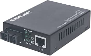 Intellinet Gigabit Ethernet Single Mode Media Converter