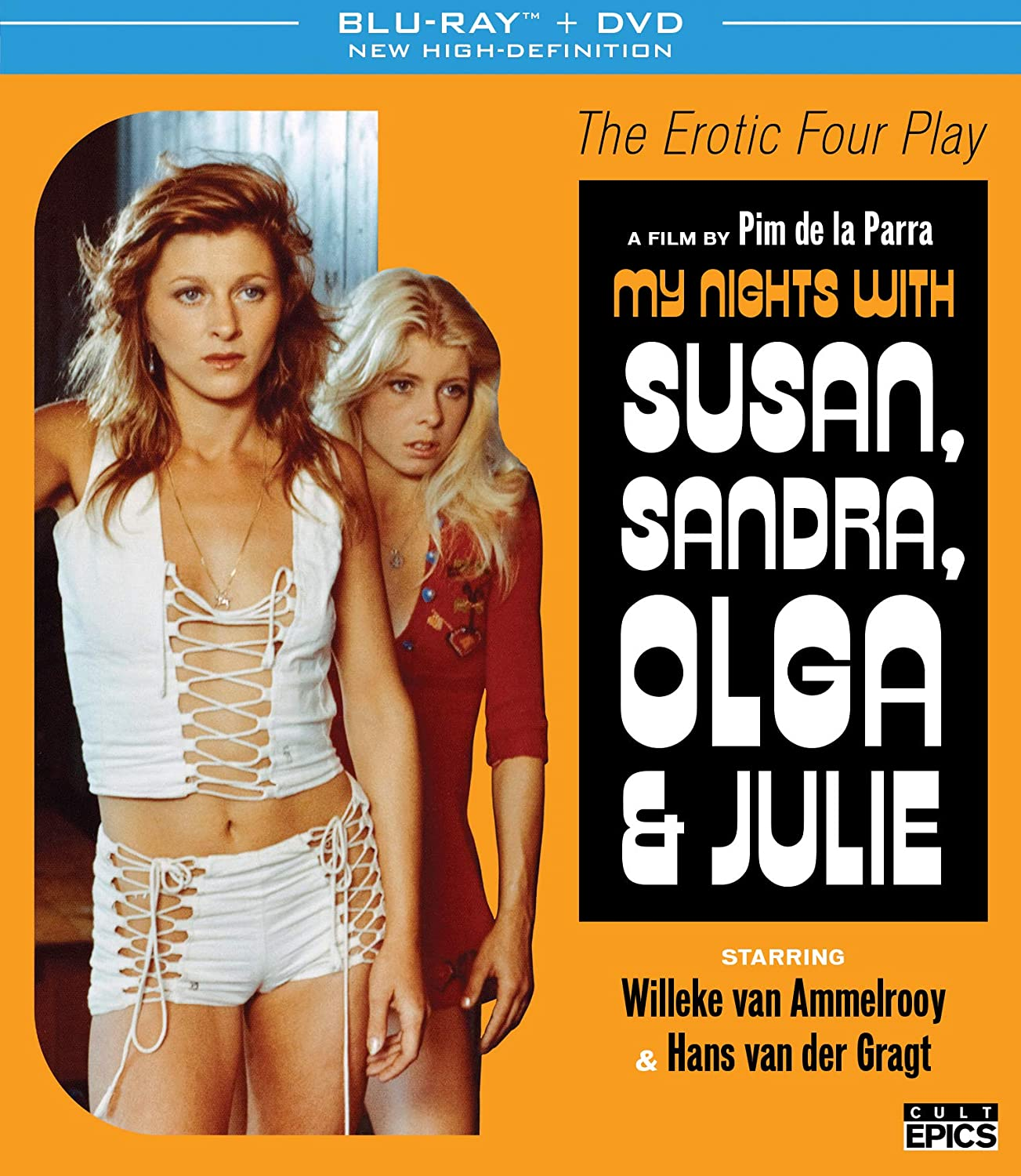 My Nights with Susan Don't miss the campaign Blu-ray Julie Sandra Luxury goods Olga