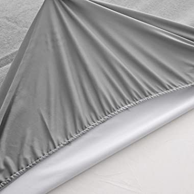 IKITOBI Bedding Flat Sheet Bed Sheets Double Bed Sheet 150 * 200+28cm/0.9kg