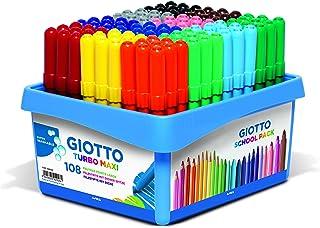 Giotto Turbo Maxi 5261 Felt Tip Pens - Assorted
