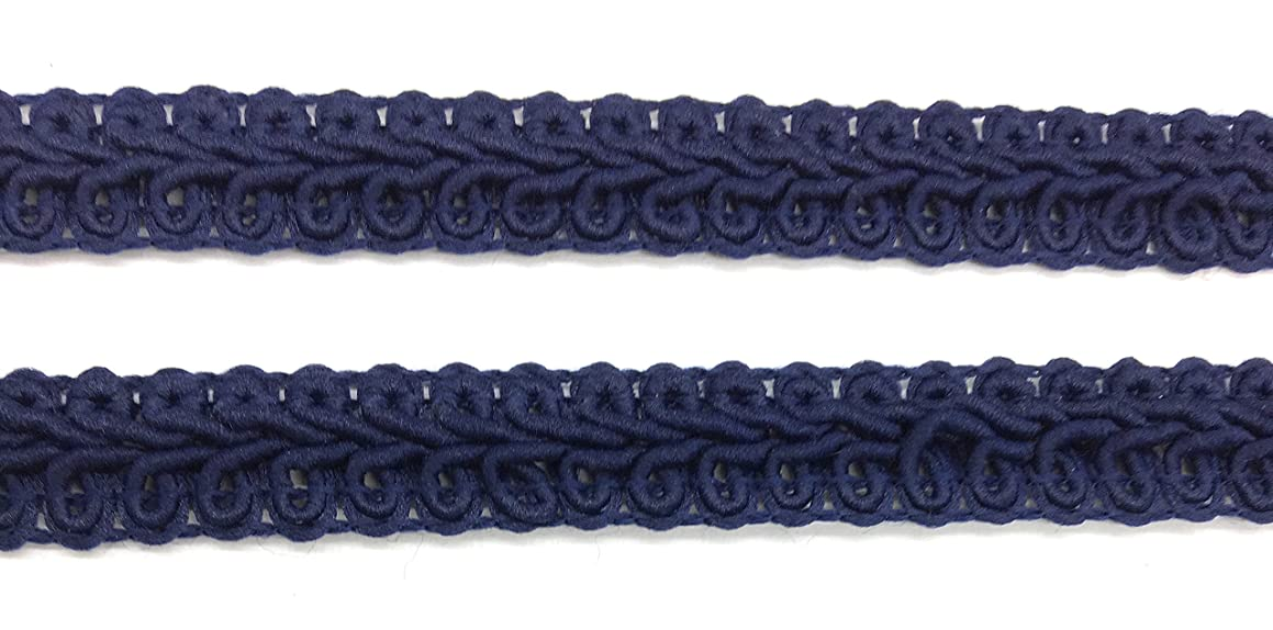 Navy Blue GIMP Cotton Braid, Trim, Trimmings 5 Yards