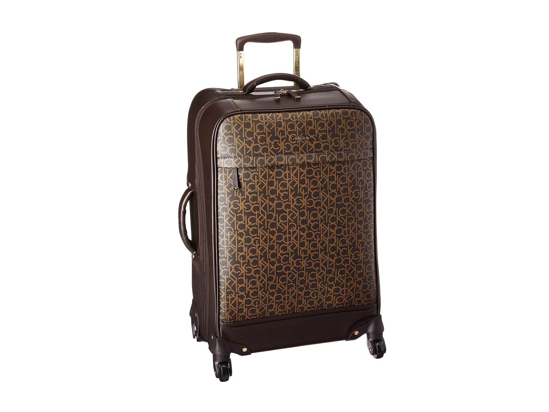"Mulberry 25"" Upright Spinner, BROWN"