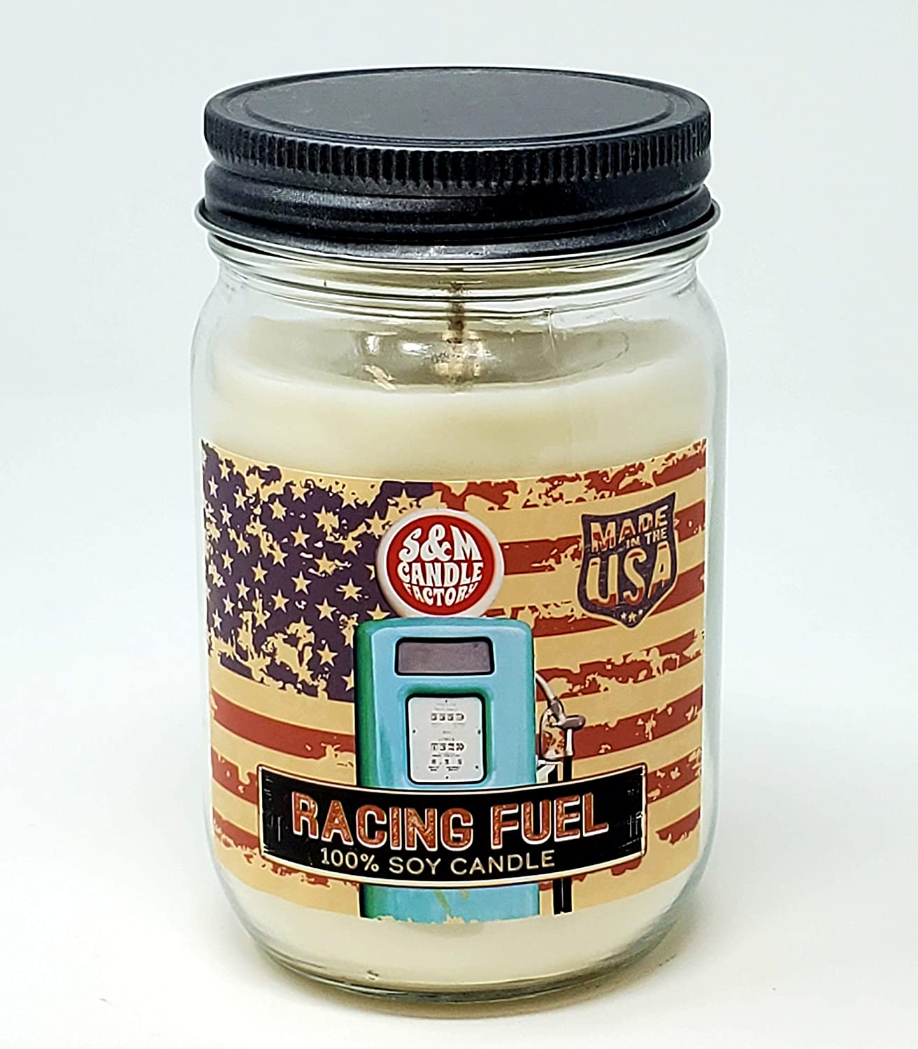 Racing Fuel Candle ~ Scented Soy Burn Max 53% OFF Tim Long 14oz Wax Manufacturer direct delivery