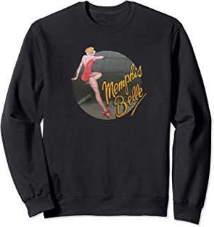 Pin up Girl WWII B-17 Flying Fortress Memphis Belle Sweatshirt