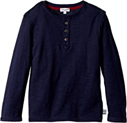 Splendid Littles - Always Basic Long Sleeve Henley (Toddler/Little Kids)