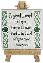Abbey Gift A Good Friend Irish Mini Plaque On Easel