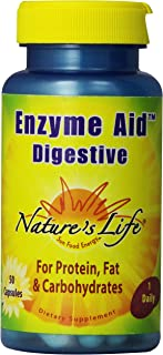 Nature's Life Enzyme Aid Digest Cap | 50 ct