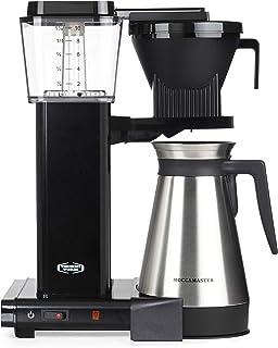 Moccamaster KBG 741 Select CD Overflow Kaffebryggare, 1450 W, 1,25 l, Svart