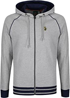 Luke 1977 Mens Morrisons Hoody Long Sleeve Full Zip Hoodie Hooded Sweatshirt Top