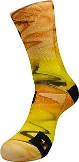 STYLE FOREVER, Tormenta del Desierto Active Athletic Calcetines con Diseño Motivo Hecho a Mano Calcetines de impresión 3D para Baloncesto Voleibol Tenis Fitness Golf Ciclismo Coolmax Calcetines deportivos