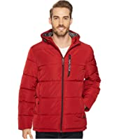 Nautica - Quilted Hooded Puffer
