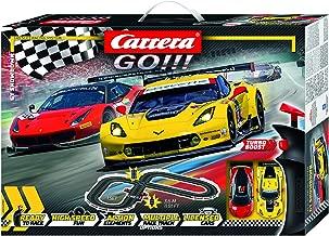 Carrera GO!!! 62490 GT Showdown Electric Slot Car Racing Track Set 1:43 Scale