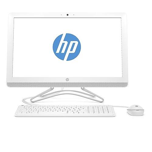 HP Ordinateur All-in-One Desktop PC 60,45 cm (écran IPS 23,8 Pouces Full HD) 8 Go de RAM, Disque Dur 1 to, Windows 10 Home 64, Blanc