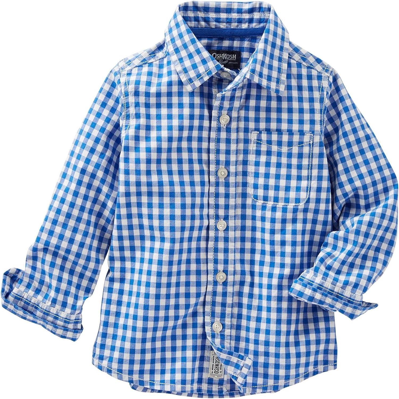 OshKosh B'Gosh Boys' Woven Buttonfront 31379717
