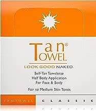 Tan Towel Self Tan Towelette Classic  50 Count