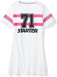 Girls' Football Jersey Tunic T-Shirt Dress, Amazon Exclusive