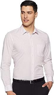 Peter England Men's Striped Slim fit Formal Shirt