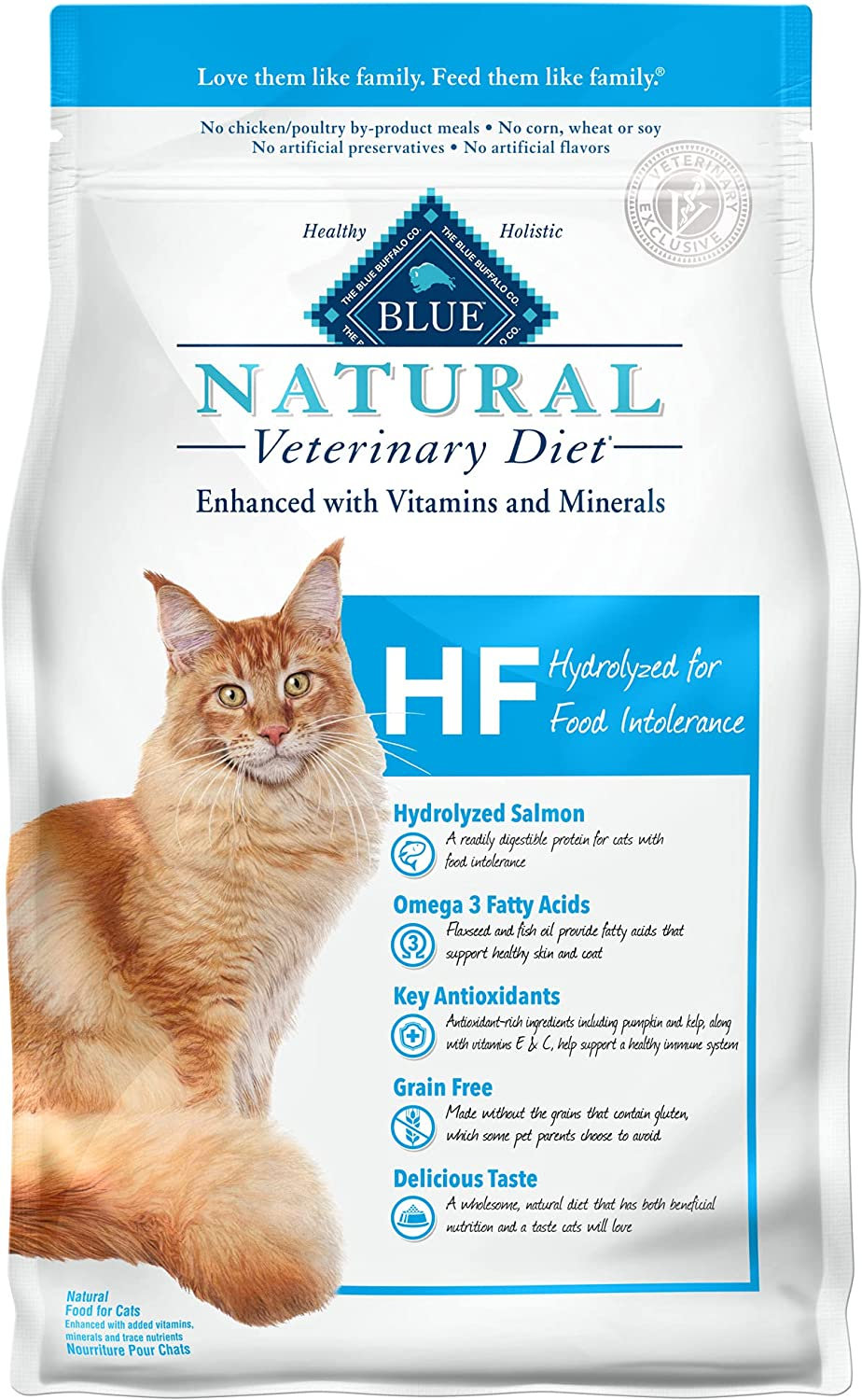Ranking TOP5 SALENEW very popular! Blue Buffalo Natural Veterinary Diet Into for Hydrolyzed Food HF