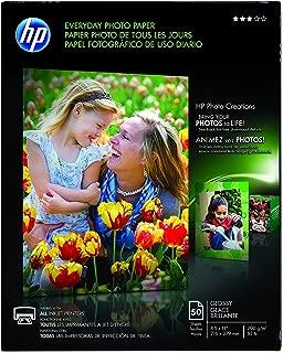 Hewlett Packard (HP) Q8723A Glossy Everyday Photo Paper (8.5