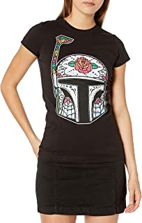 Star Wars Women's Juniors Boba Fett T-Shirt