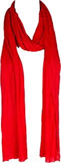 """Plain solid Color Scarf, more than 40 colors, 76"""" long, 14"""" wide, Jersey Scarf, free style, without hem"""