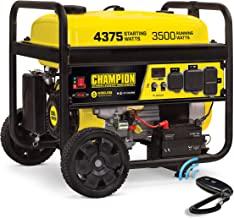 Champion 3500 Watt Portable Generator | Wireless Remote Start | 12 Hour Run Time | Volt Guard Built-in Surge Protector | N...