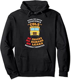 Funny School Bus Driver Saying Appreciation Pullover Hoodie