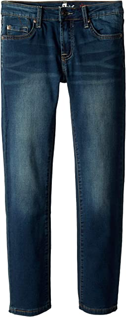 Slimmy Knit Denim in Monument (Big Kids)