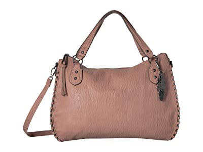 Jessica Simpson Selena East/West Tote (Moss Rose) Tote Handbags