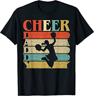 Retro Vintage Daddy Cheer Shirt Funny Dad/Father's Day Gift