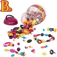 B Toys - (500-Pcs) Pop Snap Bead Jewelry - DIY Jewelry Kit for Kids