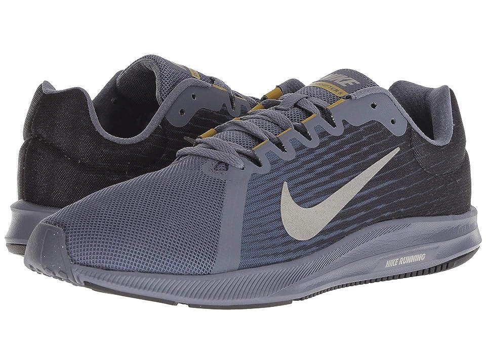 Nike Downshifter 8 (Light Carbon/Metallic Pewter/Peat Moss/Black) Men