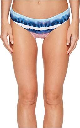 Splendid - Tie-Dye Stripe Reversible Retro Bikini Bottom