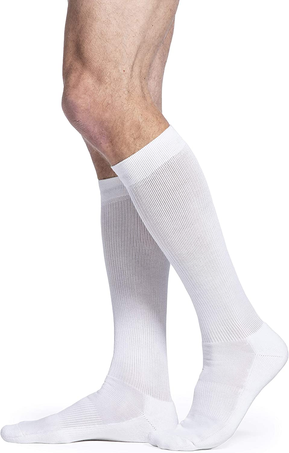 SIGVARIS Los Angeles Mall Men's Motion Cushioned Cotton discount Toe Closed Calf-High 360