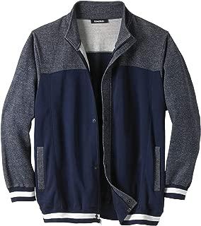 KingSize Men's Big & Tall Coaches Collection Baseball-Inspired Jacket