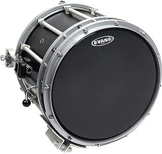 Evans Hybrid-S Black Marching Snare Drum Head, 14 Inch (Renewed)