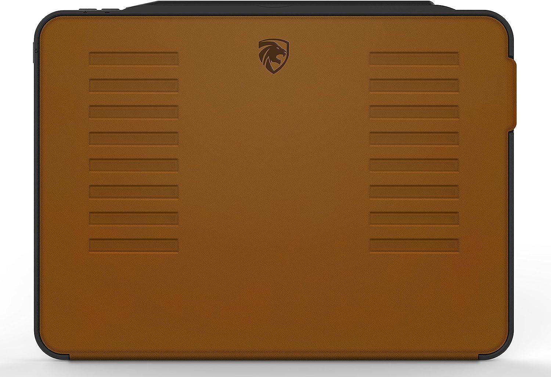 Zugu Case Schutzhülle Für Ipad Pro 12 9 Zoll 32 8 Cm Altes Modell Sehr Schützend Aber Dünn Mit Praktischem Magnet Ständer Und Sleep Wake Funktion Braun Elektronik