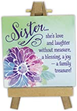 Abbey Gift Sister Mini Plaque On Easel