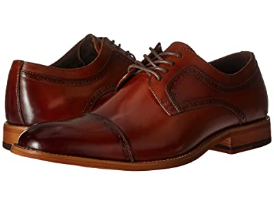 Stacy Adams Dickinson Cap Toe Oxford (Cognac) Men