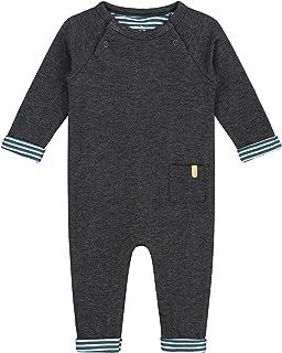 Pr/énatal Baby M/ädchen Kleid Dunkelgrau