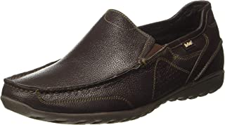 Lee Cooper Men's Lc1459ebrown Leather Loafers